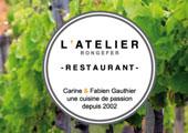 Restaurant l'Atelier Rongefer