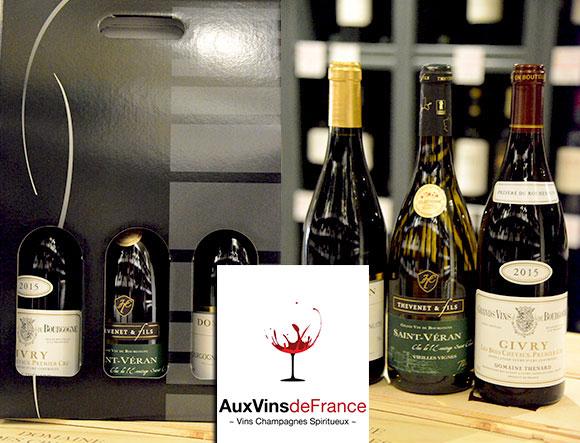 Acheter Coffret Bourgogne Aux Vins de France